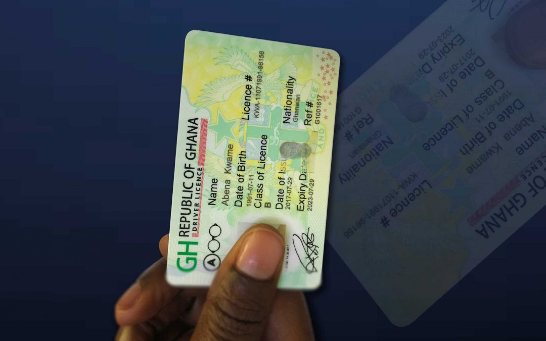 RESTRICTIVE SIGNS AT THE BACK OF THE DRIVER'S LICENCE